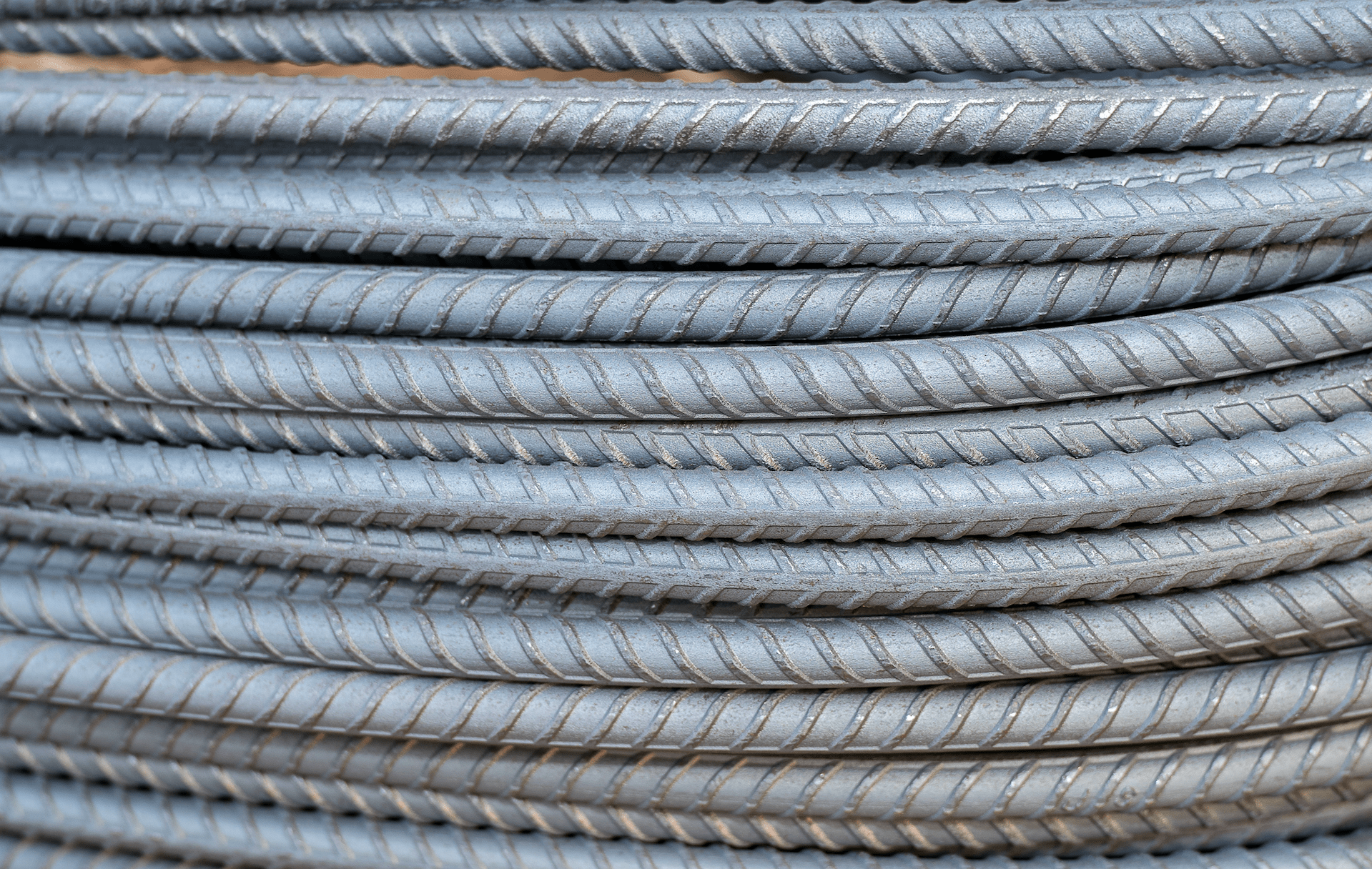 What are the different types of rebar?